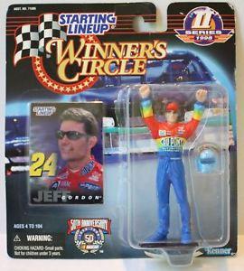 【送料無料】模型車 モデルカー スポーツカーラインナップ#サークルジェフゴードンtas004035 1998 starting lineup winner039;s circle nascar jeff gordon