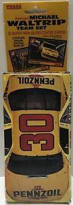 【送料無料】模型車 モデルカー スポーツカーペンズオイルゼクセルカードマイケルtas032803 1992 traks nascar pennzoil highglass cards michael waltrip