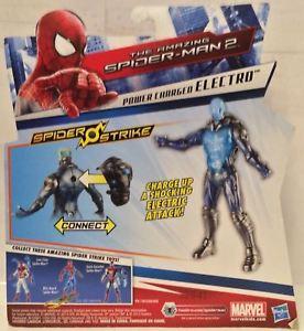 【送料無料】模型車 モデルカー スポーツカースパイダーマンスパイダーストエレクトロtas030175 2014 marvell hasbro the amazing spiderman 2 spider strike electro
