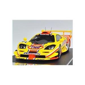 【送料無料】模型車 モデルカー スポーツカートウモロコシマクラーレン#ebbro 44672 ebbro x hpi yellow corn mclaren f1 gtr 2001 jgtc 21 143