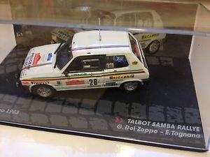【送料無料】模型車 モデルカー スポーツカーネットワークミニチュアカーtalbot sambasan remo rallydel zoppo 143 ixo miniature car collectioncar