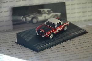 【送料無料】模型車 モデルカー スポーツカーラリーカーフィアットスパイダーラリーサンレモネットワークrally car fiat 124 spider rallye sanremo 1973 m verini 143 ixo altaya