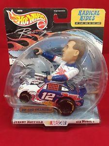 【送料無料】模型車 モデルカー スポーツカーホットホイールレーシングジェレミーメイフィールドマテル#モービルhot wheels racing jeremy mayfield mattel 1999 radical rides 12 mobil nascar