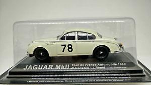 【送料無料】模型車 モデルカー スポーツカージャガーツールドフランスラリーカーjaguar mkii tour de france auto 1960 143 altaya rally cars