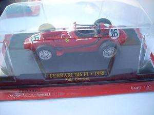 【送料無料】模型車 モデルカー スポーツカーフェラーリホーソンスケールferrari 246 f1 1958 m hawthorn scale 143
