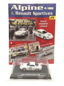 【送料無料】模型車 モデルカー スポーツカーアルパインツアードフランスミントブックレットalpine a 108 tour de france 1960 143 eligor n2180 mint booklet
