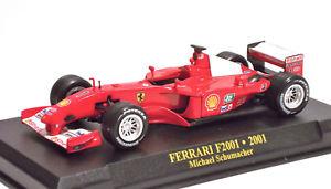 【送料無料】模型車 モデルカー スポーツカーフェラーリミハエルシューマッハ#f1ferrari f2001 2001 michael schumacher 1 143