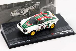 【送料無料】模型車 モデルカー スポーツカーランチア#ラリーモンテカルロムナーリlancia stratos hf 10 rally monte carlo 1976 munarimaiga 143 altaya