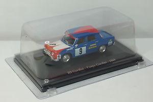 【送料無料】模型車 モデルカー スポーツカールノー#altaya renault 8 gordini coupe gordini 1969 9 143