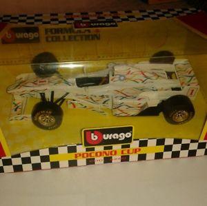 【送料無料】模型車 モデルカー スポーツカーポコノボックスカップ#pocono cup 1 124 in good condition in box burago