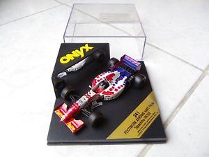 【送料無料】模型車 モデルカー スポーツカーフットワークハート#オニキスfootwork arrows hart fa16, takachiho inoue 10 onyx 241 143 f1 formula 1 1995