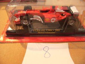 【送料無料】模型車 モデルカー スポーツカーミニチュアカーフェラーリミハエルシューマッハminiature car ferrari f2004 michael schumacher 143
