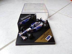 【送料無料】模型車 モデルカー スポーツカーウィリアムズルノーデイモンヒル#オニキスフォーミュラルノーボックスオンwilliams renault fw17 damon hill 5 onyx 235 143 1995 f1 formula 1 renault box
