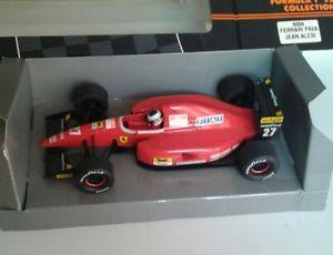 【送料無料】模型車 モデルカー スポーツカーオニキスフォーミュラコレクションフェラーリジャンアレジonyx formula 1039;92 collection 137 ferrari f92a jean alesi