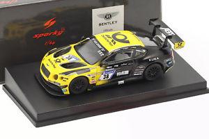 【送料無料】模型車 モデルカー スポーツカーベントレーコンチネンタルグアテマラ#ベントレーチームアプトbentley continental gt3 38 24 h nrnburgring 2017 bentley team abt 164 spark