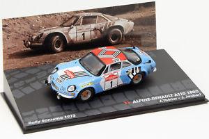 【送料無料】模型車 モデルカー スポーツカーアルパインルノー#ラリーサンレモalpine renault a110 1800 1 rallye sanremo 1973 therierjaubert 143 altaya