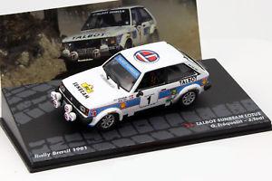 【送料無料】模型車 モデルカー スポーツカーサンビームロータス#ラリートッドtalbot sunbeam lotus 1 rally etc 1981 frquelin, todt 143 altaya