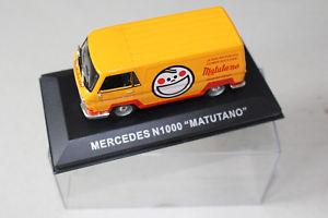 【送料無料】模型車 モデルカー スポーツカーメルセデスmercedes n1000 matutano
