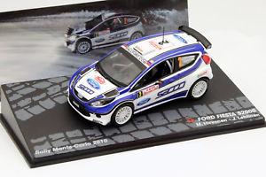 【送料無料】模型車 モデルカー スポーツカーフォードフィエスタ#モンテカルロラリーford fiesta s2000 2 montecarlo rally 2010 hirvonen, lehtinen 143 altaya