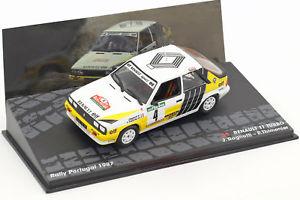 【送料無料】模型車 モデルカー スポーツカールノーターボ#ラリーポルトガルrenault r11 turbo 4 2 rally portugal 1987 ragnotti, thimonier 143
