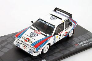 【着後レビューで 送料無料】 【送料無料】模型車 モデルカー スポーツカーランチアデルタモンテカルロラリーlancia delta s4 7 toivonen cresto, winner rallye monte carlo 1986 143, ナカカンバラグン 07cc9fbe