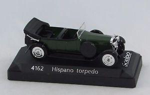 【送料無料】模型車 モデルカー スポーツカーソリッドhispano torpedo green 4162 143 solid