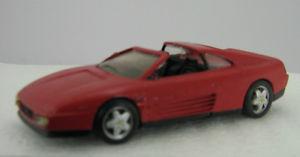 【送料無料】模型車 モデルカー スポーツカーフェラーリグアテマラエクスアンプロヴァンスムラージュferrari 348 gtresin 143 ** provence moulage