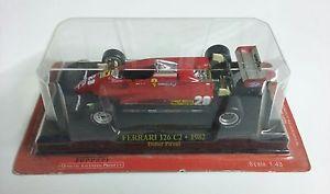 【送料無料】模型車 モデルカー スポーツカーフェラーリフォーミュラレッドブリスター1982 ferrari 126 c2 didier pironi f1 formula 1 no 28 red 143 in blister