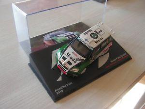 【送料無料】模型車 モデルカー スポーツカーシュコダファビアラリーアルゼンチンセリエ143 car skoda fabia rally argentina 2010 serie 11