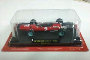 【送料無料】模型車 モデルカー スポーツカーフェラーリジョンサーティースブリスターフォーミュラ#レッドferrari 512 f1 1965 john surtees f1 formula 1 2 red 143 with blister