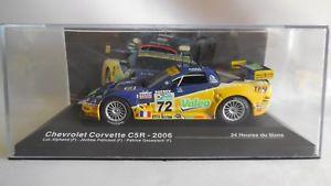 【送料無料】模型車 モデルカー スポーツカーネットワークシボレーコルベット#ルマンixo 143 chevrolet corvette c5r 72 alphand policand goueslard 24h le mans 2006