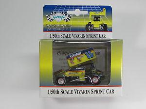【送料無料】模型車 モデルカー スポーツカーグレッグ#キャメロンスプリントカーgreg hodnett 11h vivarin 150 world of outlaws gmp winged sprint car