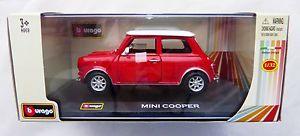 【送料無料】模型車 モデルカー スポーツカーミニクーパーbburago mini cooper in 132 amp; ovp
