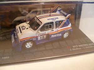 【送料無料】模型車 モデルカー スポーツカー#レラリーmg metro 6r4 15 j mc rae rac rally of 1986 ~