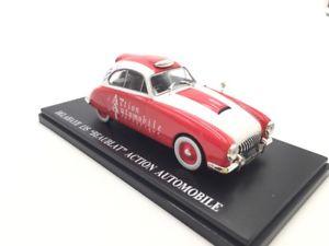 【送料無料】模型車 モデルカー スポーツカーアシェットdelahaye 135 aat 143 advertising vehicles fascicle n2751 hachette state neu