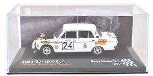 【送料無料】模型車 モデルカー スポーツカーモデルカーラリーモンテカルロシートアンプ143 model car rallye monte carlo 1977 seat 1430 servia sabater altaya amp;