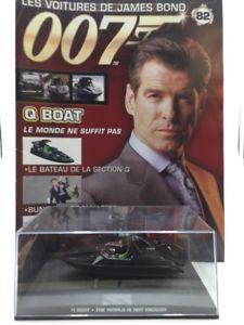 【送料無料】模型車 モデルカー スポーツカーボートジェームズボンドブックレットq boat the world is not enough n8284 cars james bond 143 booklet
