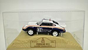 【送料無料】模型車 モデルカー スポーツカーポルシェダカールporsche 911 1984 143 legend m6dakar norev