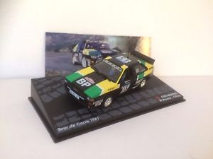 【送料無料】模型車 モデルカー スポーツカーアウディクワトロラリーカーツールドコルスムートンネットワークaudi quattro rally car tour de corse 1981 m mouton 143 ixo
