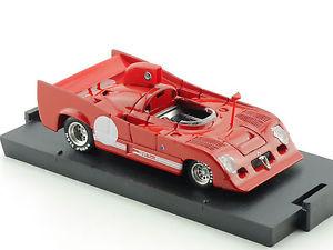 【送料無料】模型車 モデルカー スポーツカーアルファロメオプロトタイプモデルカーbrumm r237 alfa romeo 33tt12 prototype 1974 model car 143 tlw ovp 14122381