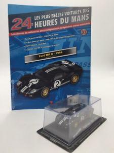 【送料無料】模型車 モデルカー スポーツカーフォードルマンミントford mk ii 1966 143 n3370 most beautiful cars of 24h du mans mint