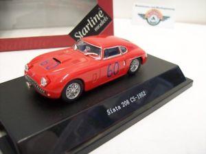 【送料無料】模型車 モデルカー スポーツカー#スターラインsiata 208 cs 60, red, 1952, starline 143, ovp