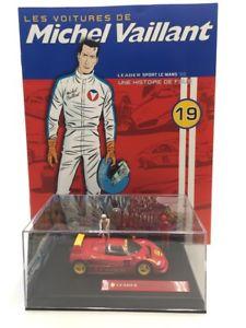 【送料無料】模型車 モデルカー スポーツカーミッシェルスポーツルマンボックスcars from michel vaillant 143 n1950 sport le mans 92 box plexi fasci