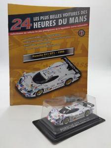 【送料無料】模型車 モデルカー スポーツカーポルシェルマンporsche 911 gt1 1998 143 n4170 the most beautiful cars of the 24h of le mans