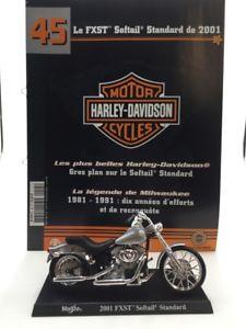 【送料無料】模型車 モデルカー スポーツカーオートバイハーレーダビッドソンブックレットminiature motorcycle harley davidson softail standard 2001 118 n4550 booklet