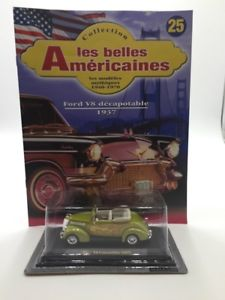 【送料無料】模型車 モデルカー スポーツカーフォードミニチュアミントブックレット1937 ford v8 convertible n2540 car miniature 143 mint booklet