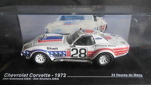【送料無料】模型車 モデルカー スポーツカーネットワークシボレーコルベット#グリーンウッドルマンixo altaya 143 chevrolet corvette 28 greenwoodsmothers 24h le mans 1972