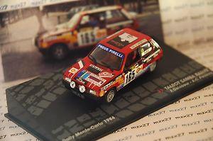 【送料無料】模型車 モデルカー スポーツカーラリータルボットモンテカルロラリーフランソワデルクールネットワークインストールcar rally talbot samba install carlo rally 1984 f delecour 143 ixo altaya