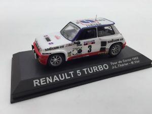【送料無料】模型車 モデルカー スポーツカールノーターボコルシカラリーカーrenault 5 turbo theriervial corse 1982 n5970 143 rally cars
