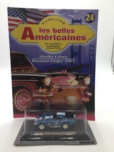 【送料無料】模型車 モデルカー スポーツカーシェルビーコブラデイトナクーペミニチュアミントshelby cobra daytona coupe 1965 n2440 car miniature 143 mint fascicul